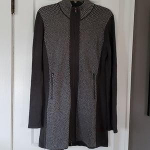 ***SOLD***Title Nine full zip sweater tunic dress